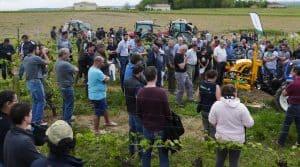 Cette journée etchnique destinée aux viticulteurs du gers a permis d'aller à l'encontre des idées reçues sur les outils interceps et les épampreuses.