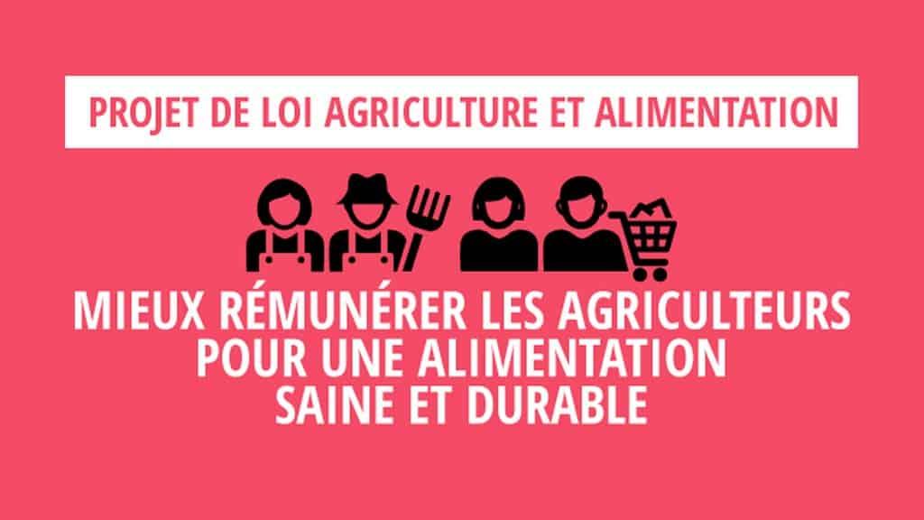 projet loi agriculture et alimentation ©http://agriculture.gouv.fr