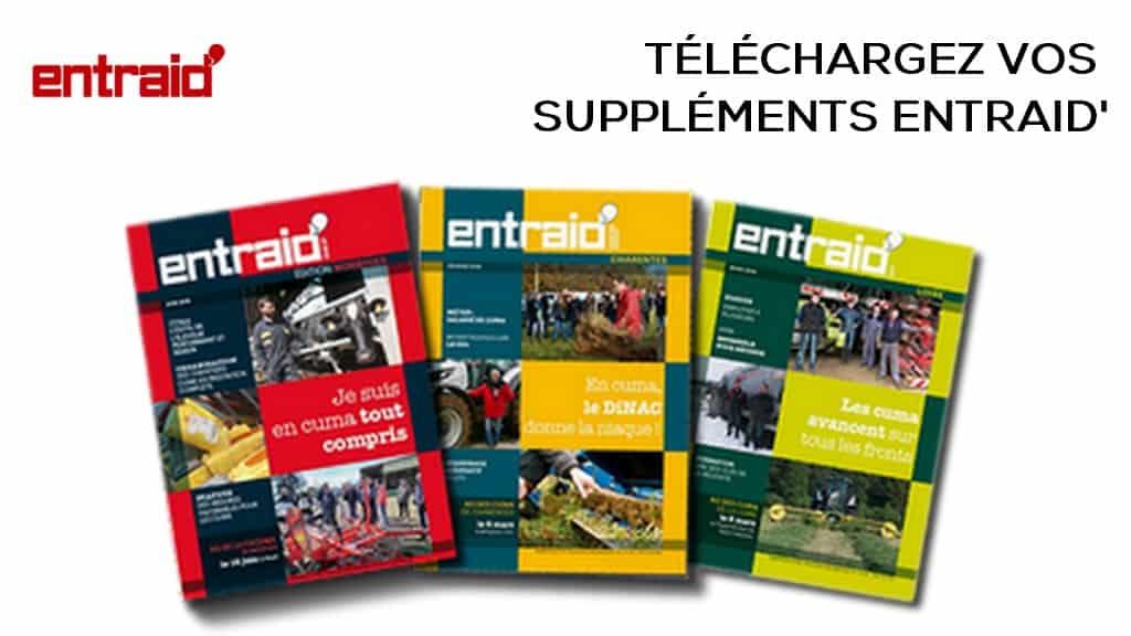 Téléchargez la version numérique magazine Entraid de vos éditions par départements publiées et distribuées en compléments du magazine Entraid