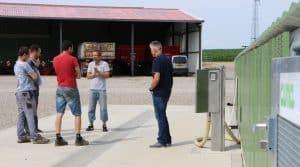 rallye aires de lavage en Alsace : gestion des effluents phytosanitaires, deux cuma alsaciennes ouvrent leurs portes