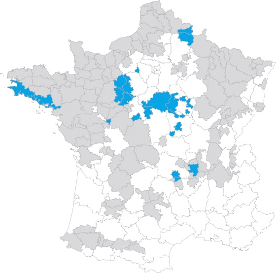 Carte de début de récolte maïs ensilage France - météo France - Arvalis Institut du Végétal - Entraid'