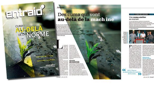 Agriculture de groupe Magazine Entraid cuma : au delà des machines et des normes dans le