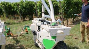 Le robot de binage Ted est destinés aux viticulteurs.