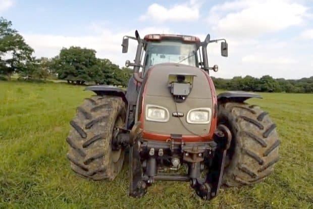 tracteur autonome Valtra