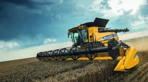 moissonneuse new holland CR revelation