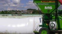 Stocker les céréales en boudins, une alternative pour les éleveurs