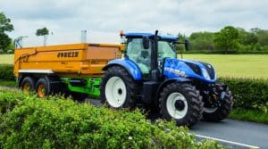 frein intelligent New Holland