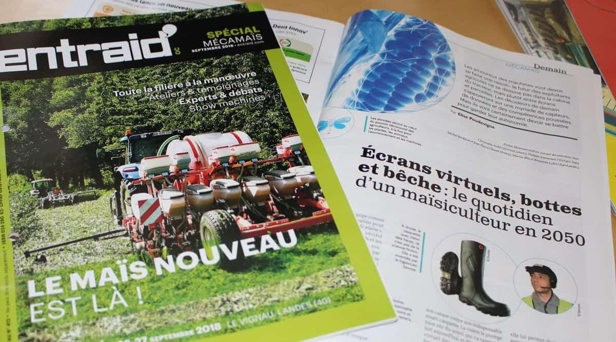 Informations pratiques et programme de l'édition de Mécamaïs 2018.