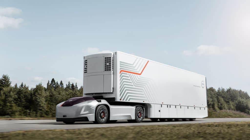Volvo Trucks Vera, le semi-remorque autonome et connecté de Volvo