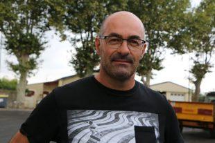 Le président de la Cave-coop de La redorte, dans l'Aude.