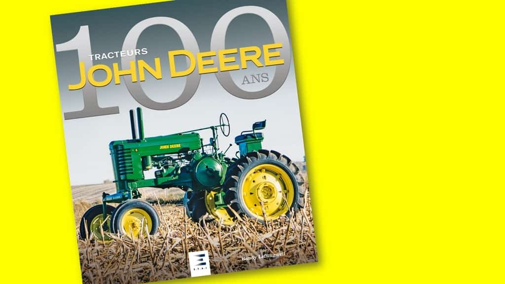 livre tracteurs john deere 100 ans