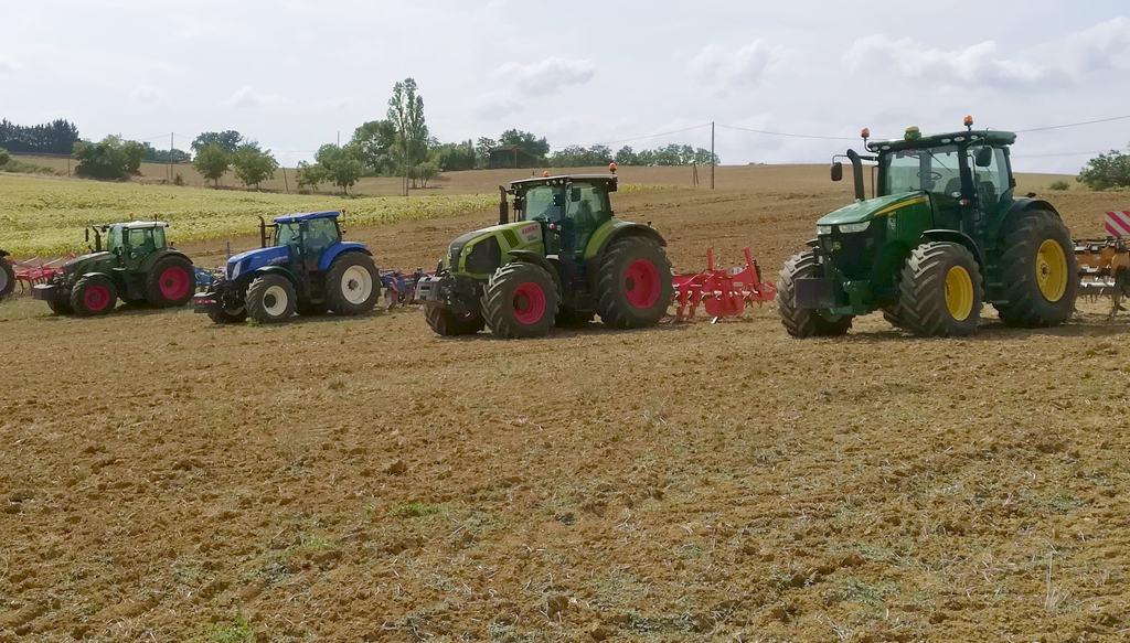 matériels de fissuration des sols, démonstration