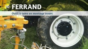 Ferrand intercep à lame mecanique