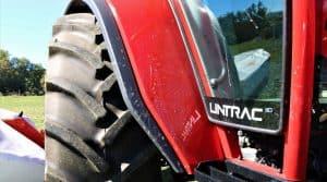 Tracteur Lindner adapté, sommet d'Or 2018
