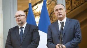 Stéphane Travert et Didier Guillaume