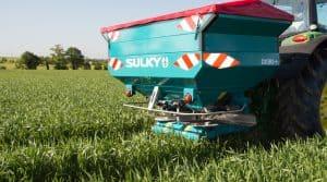 nouveautés en épandeurs d'engrais : Sulky DX30+