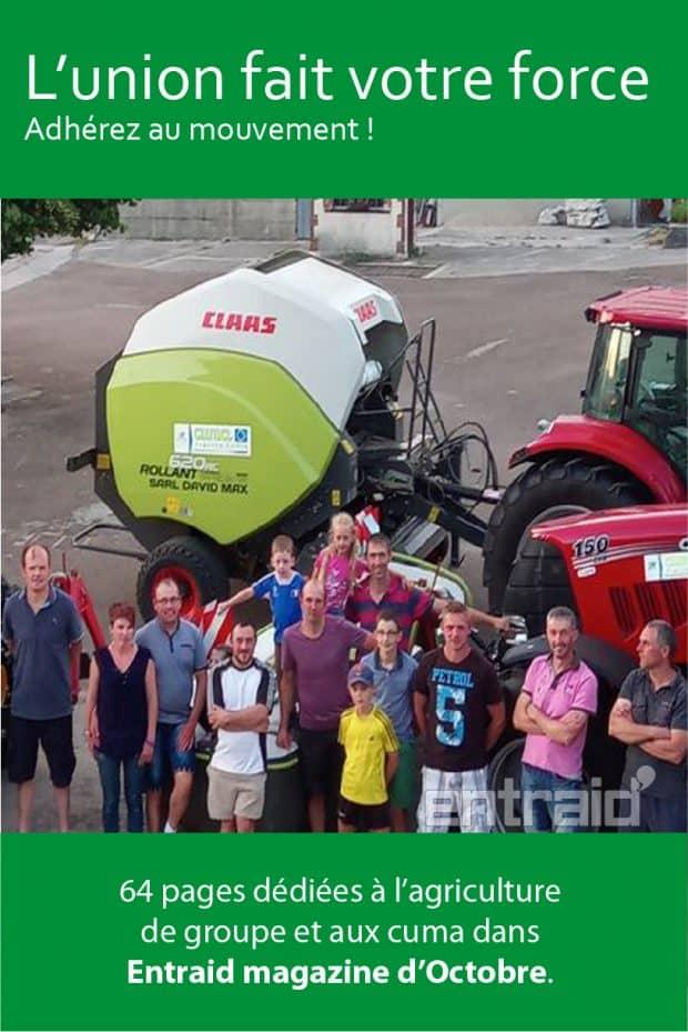 agriculture groupe cuma entraid magazine octobre