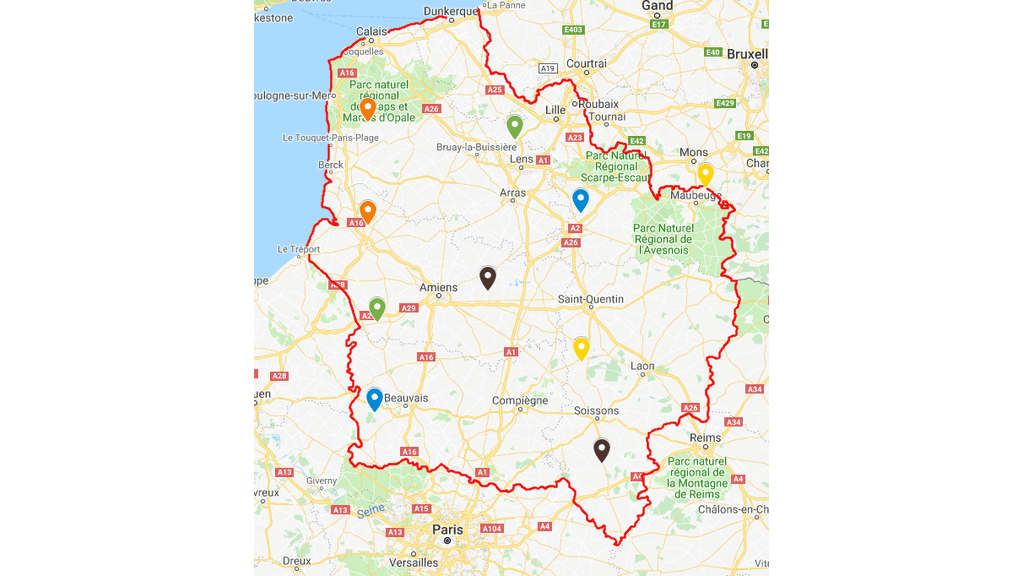 rencontres hivernales, cuma des Hauts-de-France
