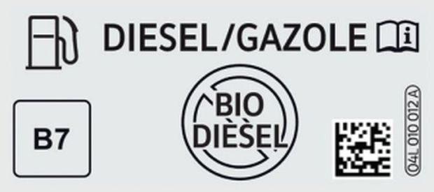 Nouveaux noms des carburants à la pompe
