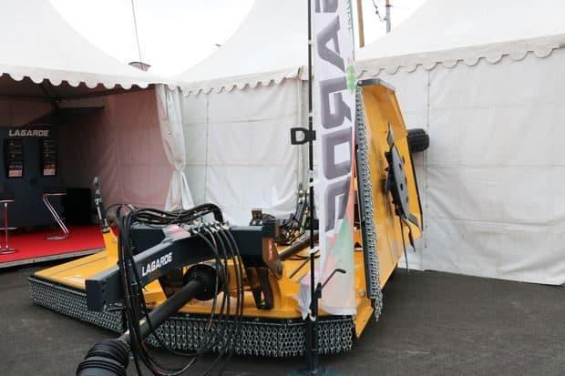 Sommet Elevage 2018 gyrobroyeur LAgarde