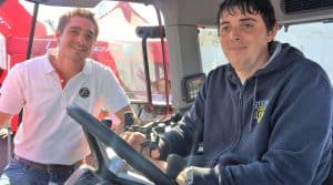 Tracteur pour personne handicapée, lindner elevateur