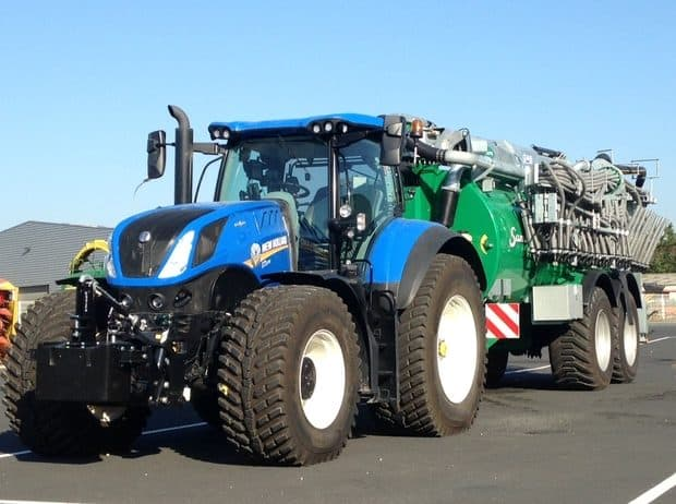 freinage intelligent New Holland