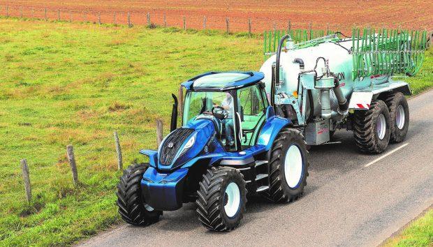Tracteur biognv gnv methane bio methane
