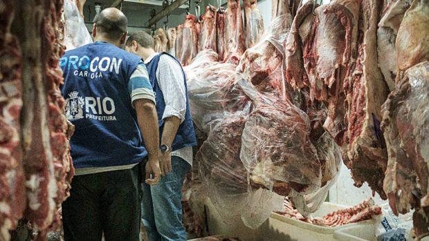Viande bovine au Brésil abattoir