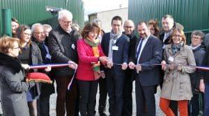 Inauguration de la première unité de méthanisation agricole en injection d'Occitanie.