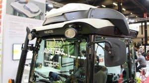 cabines de catégorie 4, tracteur claas nexos