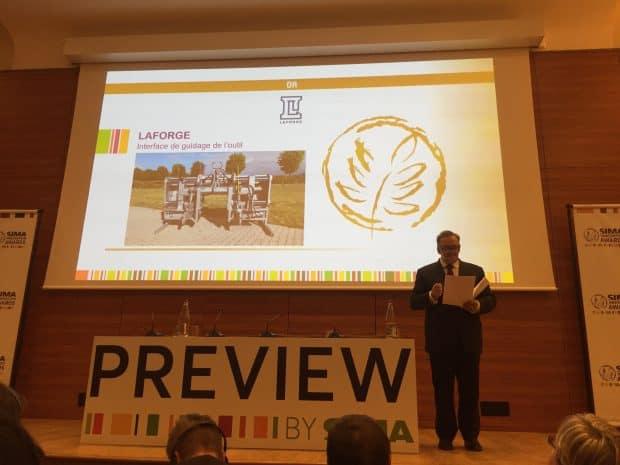 Sima innovation awards 2019 laforge