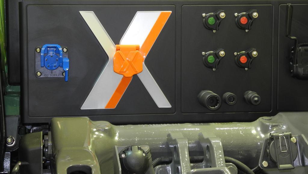 Prise X sur tracteur Fendt