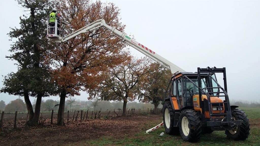 prévention des risques du travail en hauteur, journée technique en Saône-et-Loire