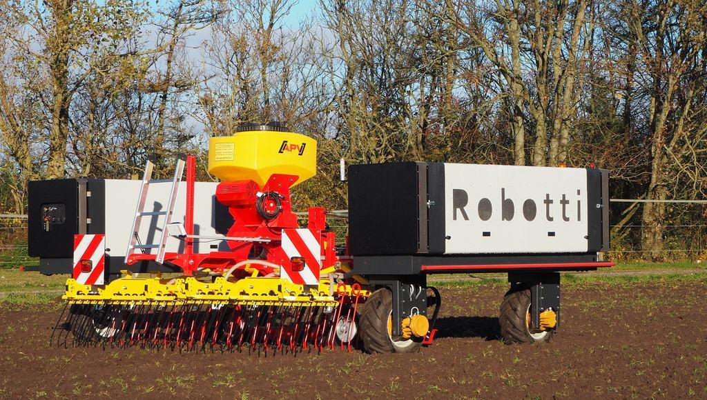 nouvelles technologies roboto AgroIntelli Robotti