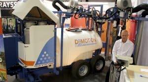 pulvérisation viticole injection directe DiiMotion