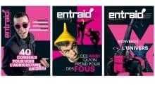 Entraid Magazine décembre 2018 Noir et rose