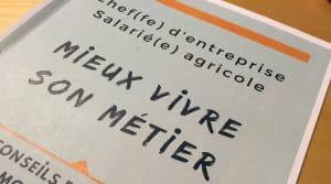 travail agricole Un livret, 10 conseils de 10 experts du monde agricole, par Trame.
