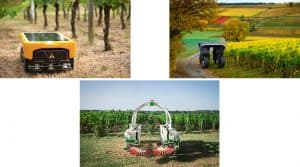 robotique solutions vignes