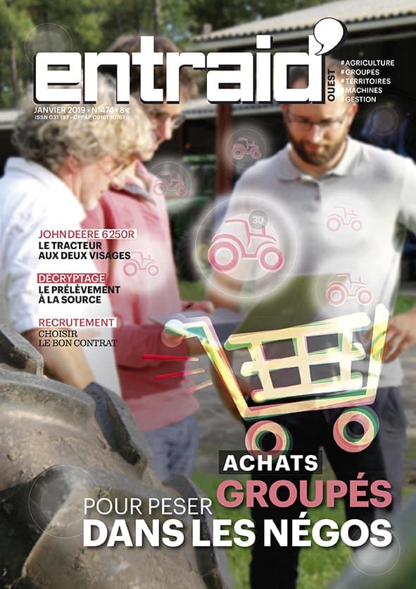 Entraid Magazine janvier 2019 mensuel agricole