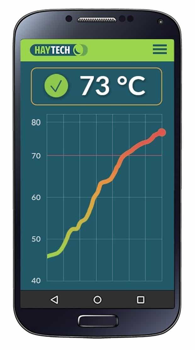 sonde de température à compost Quanturi
