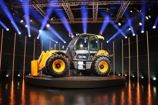 JCB Telescopic série III cabine Command Plus