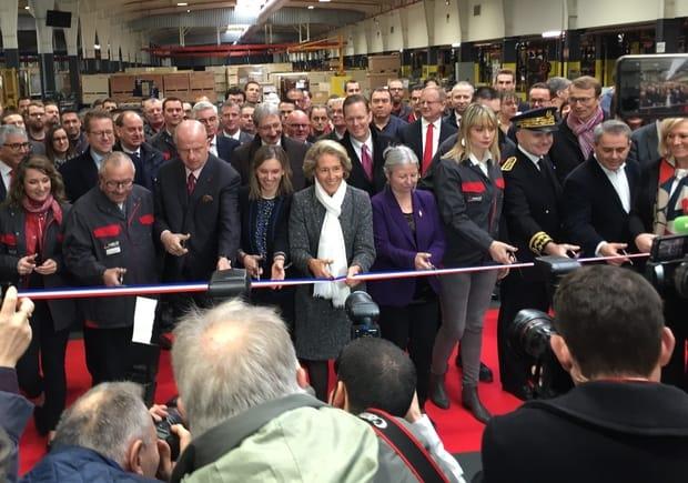 Groupe AGCO inauguration beauvais Massey Ferguson