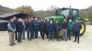 l'agriculture de précision, la cuma a investi dans un tracteur muni d'un GPS.