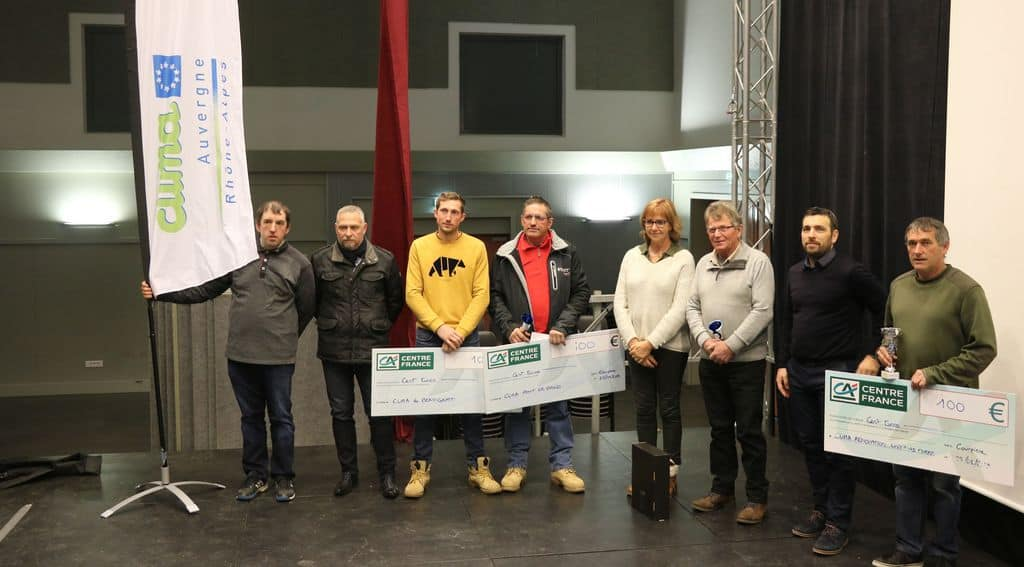transmission avec les trophées Cuma, AG fdcuma du Puy-de-Dôme