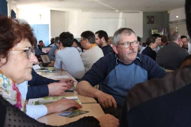 AG frcuma Ouest : séquence de travail en groupe.