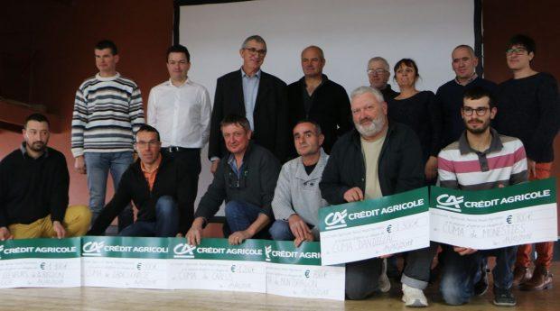 Le Challenge cuma est soutenu financièrement par le Crédit agricole Nord Midi-Pyrénées.