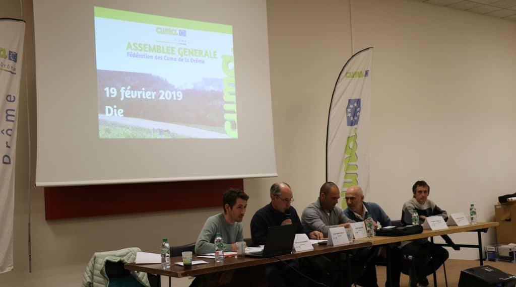l'agroécologie en cuma, Drôme