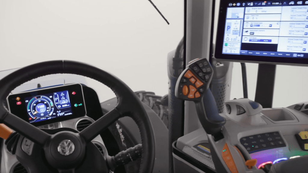 cabine des New Holland T8 Genesis Tier 5