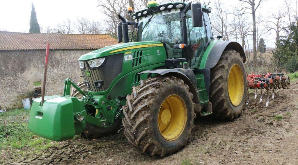 John Deere 6195 R tracteurs agricole rayons x avis test utilisation