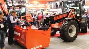 manutention, manitou chargeuses articulées MLA